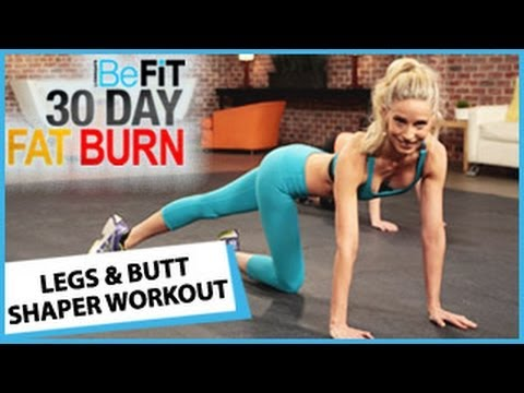 Lionsgate - 30 Day Fat Burn: Legs and Butt Shaper Workout is an explosive 10-minute lower body fat-burning workout that is designed to target tone the hips, thighs, legs...