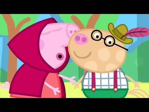 Peppa Pig in Hindi - School Play - School ka Natak- हिंदी Kahaniya - Hindi Cartoons for Kids