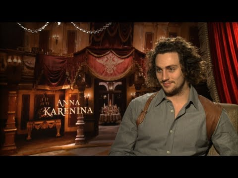 Video Aaron Taylor-Johnson Says Keira Knightley is Fantastic in Anna Karenina download in MP3, 3GP, MP4, WEBM, AVI, FLV January 2017