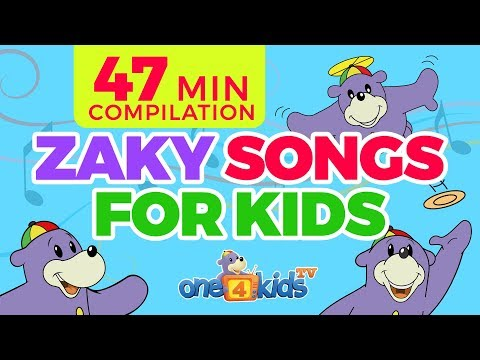 Islamic Songs 4 Kids With Zaky Song Compilation - 47 Minutes