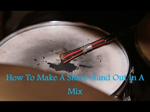 How To Make Your Snare Stand Out