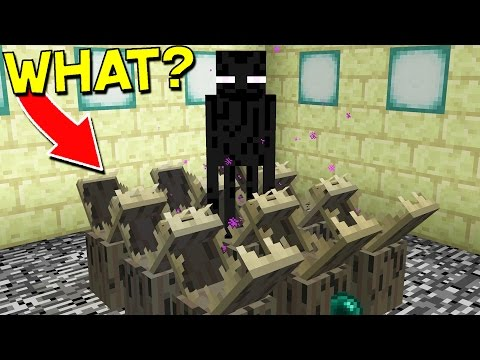 15 Ways To Kill An Enderman In Minecraft!