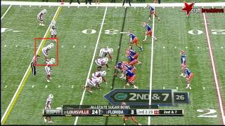Preston Brown vs Florida (2012 Bowl)