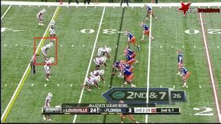 Preston Brown vs Florida (2012 Bowl)