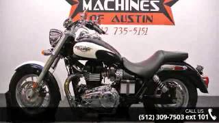 9. 2011 Triumph America  - Dream Machines Indian Motorcycle ...