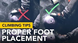 Climbing Tips for Beginners: Foot placement do's and don't by  rockentry