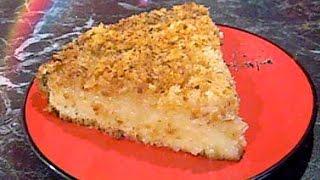 Кокосовый кухен - немецкий пирог