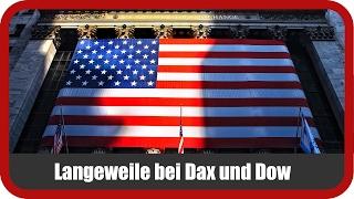 DAX30 Perf Index - Marktanalyst Salcher: Langeweile bei DAX und Dow - Spannung bei Zalando und Lufthansa