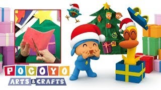 Pocoyo português Brasil - NATAL  Pocoyo Arts & Crafts: Árvore de Natal