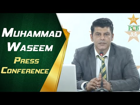 Chief Selector Muhammad Waseem Press Conference | PCB | MA2T