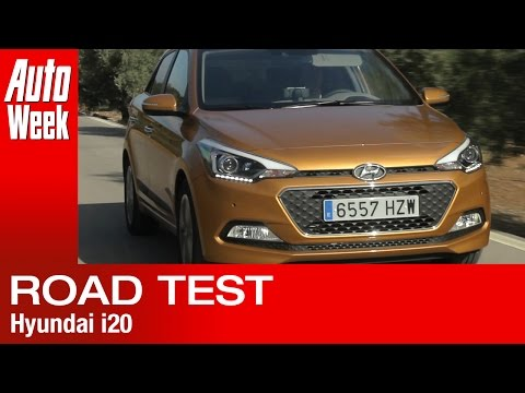 Hyundai i20 road test