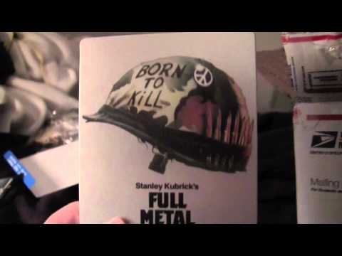 FULL METAL JACKET Canadian Blu-ray Steelbook Unboxing