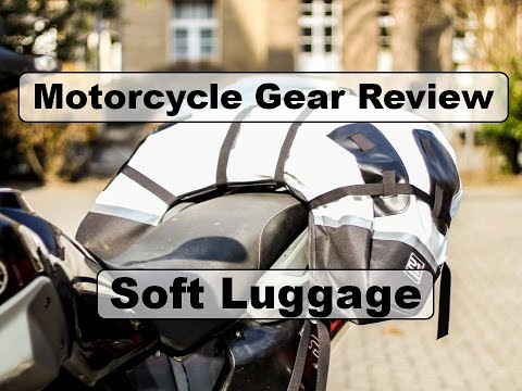 Motorcycle Riding Gear - Soft Luggage - Test and Review