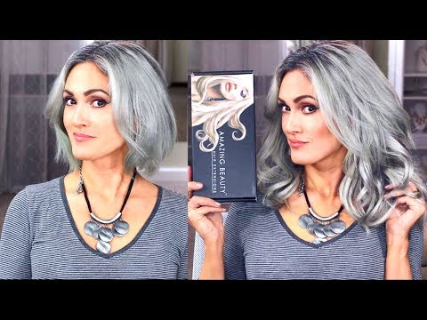 Hair cutting - HOW TO BLEND CLIP IN HAIR EXTENSIONS + GIVEAWAY! Amazing Beauty