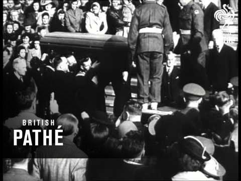 John Curtin Dies - A Great Australian (1945)