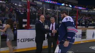 Vasily Koshechkin was honoured as 2017 Gagarin Cup Final MVP