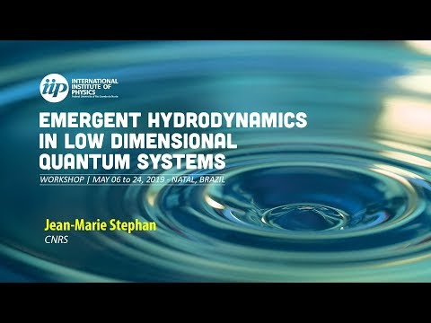 Free fermions at the edge of interacting systems - Jean Marie Stephan
