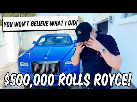 YOU WON'T BELIEVE WHAT I DID TO MY ROLLS ROYCE!!