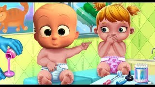 Take Care Of Baby Twins - Funny Baby care Game For Kids and Family