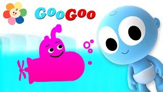 Learn the flying vehicles for children like the airplane, helicopter, and other vehicles for kids from the learning videos of Googoo. Googoo is a curious little laughing baby who enjoys learning vehicles. Every vehicle that Googoo draws, it comes to life! For more Click Here:- https://goo.gl/iE6aPjSubscribe to the BabyFirst TV Youtube Channel for more children's shows and cartoons for kids:http://www.youtube.com/user/BabyFirstTV?sub_confirmation=1Hope you enjoyed this episode on BabyFirstTV!For more videos for toddlers click here: http://www.youtube.com/user/BabyFirstTV?sub_confirmation=1About BabyFirst TVOn BabyFirst TV, your baby can learn everything under the sun,  from ABC to Animals, colors to shapes, and so much more! Our programming  is among the best at helping children learn education basics before entering the school environment. Here we house one of the internet's largest collections of educational resources, nursery rhymes for children, and cartoons for your baby. Check out some of our favorite programming, including the Color Crew, Harry the Bunny, Rainbow Horse, Vocabularry, Notekins and more! Our content is intended help grow with your child. Enjoy our huge collection of nursery rhymes for your children, that you and baby can sing together. From teaching your baby color recognition, to helping your child learn socialization with toddler games, BabyFirst TV, will be here. Make sure to subscribe to check out the latest from BabyFirst TV!