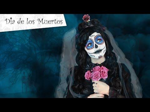 Maquillage Halloween Dia de los Muertos