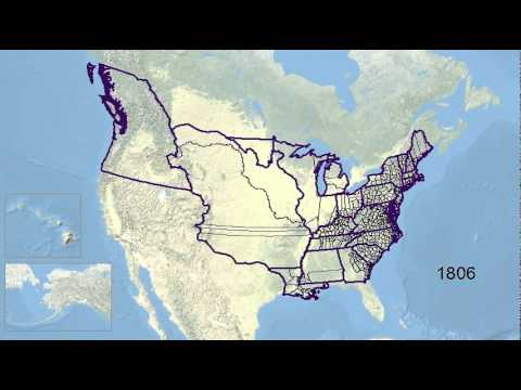 US Historical County/State Boundaries