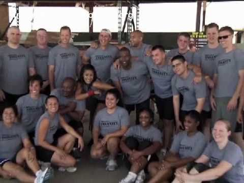 Insanity Workout For The Military With Shaun T