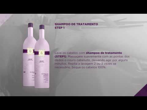 Brazilian Acai Keratine Blow Dry Treatment step by step