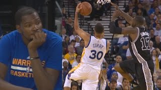 Kevin Durant's Warriors Debut! Spurs Expose Weaknesses