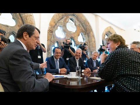 Ολοκληρώθηκε η συνάντηση Αναστασιάδη – Λουτ