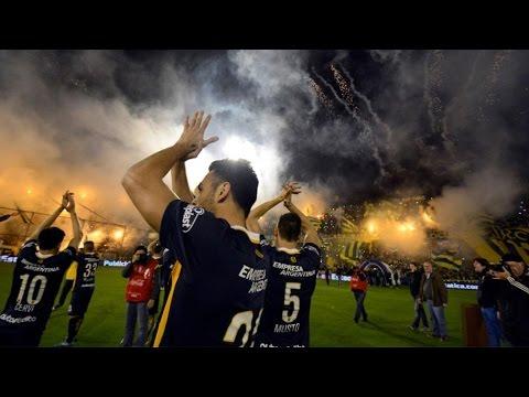 Video - Recibimiento Rosario Central - Sarmiento de Junin 2015 HD - Los Guerreros - Rosario Central - Argentina