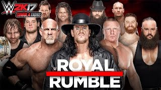 Nonton WWE 2K17 - ROYAL RUMBLE 2017:  Royal Rumble Match Film Subtitle Indonesia Streaming Movie Download