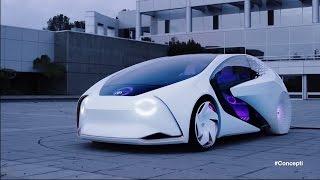 Автомобиль с искусственным интеллектом от Toyota