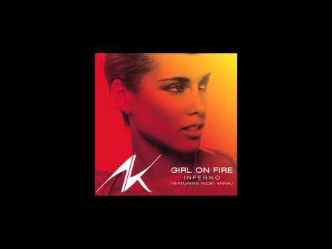 Alicia Keys feat. Nicki Minaj - Girl on Fire (Inferno Version) Instrumental