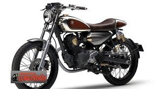 9. Yamaha เอา�น่ SR125 SR150 Cafe Racer รอลุ้น�ันยาวๆ : motorcycle tv thailand