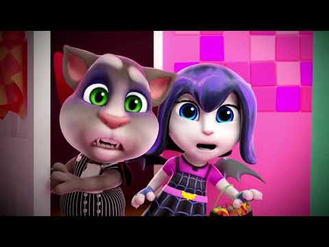 😱 Haunted House 🎃 (HALLOWEEN Special) - Talking Tom Shorts 47