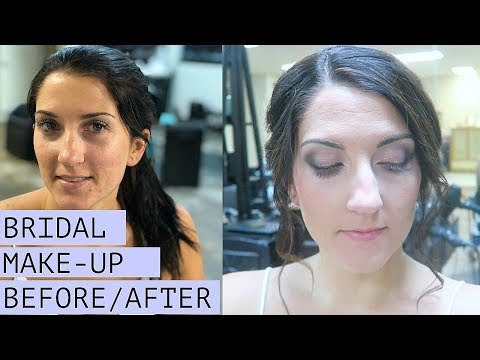 Hair salon - Bridal Hair & Make-up - Before & After