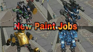 Welcome to our Channel in this video i will show you war robots test server in this test server many new paint jobs add :- 1.