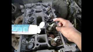 Motor Ford 2.3 Lts. 16 V. Sincronización Timing chain kit installation.