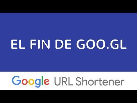 El fin de goo.gl - Adiós al acortador de URLs de Google