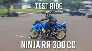 Video TEST RIDE NINJA RR 300 CC 2 CYLINDER PERCOBAAN PERTAMA! MP3, 3GP, MP4, WEBM, AVI, FLV Desember 2018