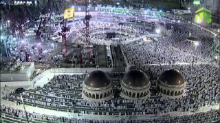 صلاة التراويح ليلة 18 رمضان 1435 من الحرم المكي- خالد الغامدي وبندر بليله HD