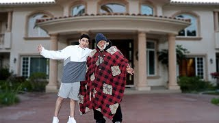 INVITING HOMELESS MAN INTO MY HOME.. **huge surprise**   FaZe Rug