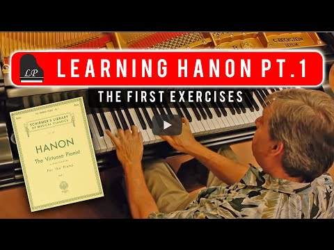 Learning Hanon - Part 1