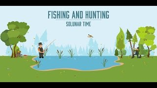 Fishing & Hunting Solunar Time YouTube video
