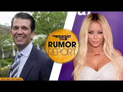 Donald Trump Jr. Reportedly Had Affair with Aubrey O'Day