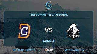 Digital Chaos vs Team Faceless, Game 3, The Summit 6, LAN-Final