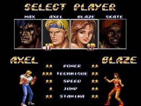 streets of rage 2 wii wad