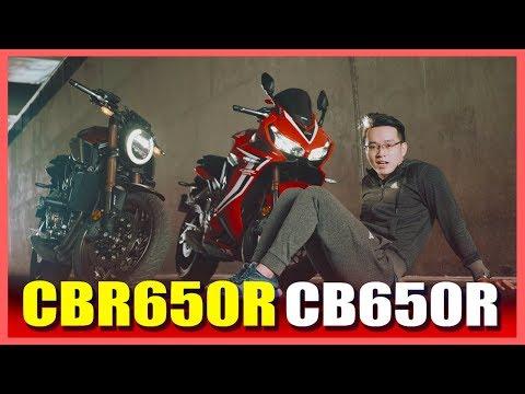 PKL - Đánh giá Honda CBR650R và CB650R (Honda CBR650R and CB650R review) - Thời lượng: 23:58.