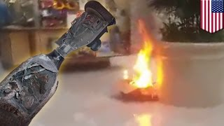 Humble (TX) United States  city images : Hoverboard fail: Deerbrook mall evacuated after hoverboard catches fire - TomoNews